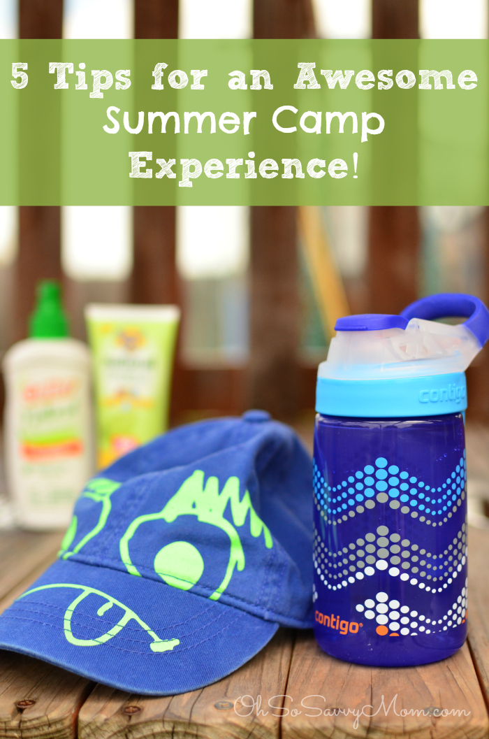 Help your kids have great experience at Summer Camp with these tips