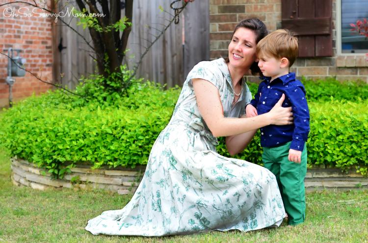 eShakti dress review, mom and toddler