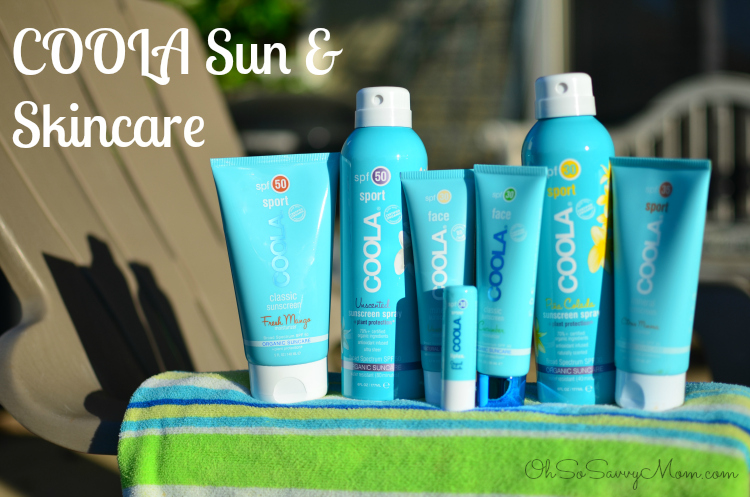 COOLA Sun and Skincare products