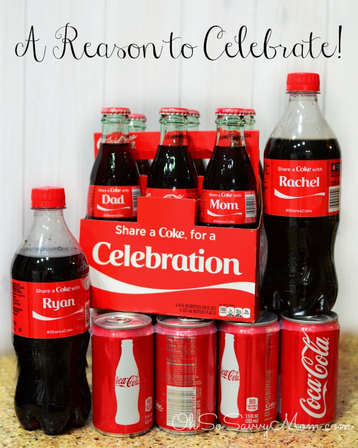 Coca Cola A reason to celebrate