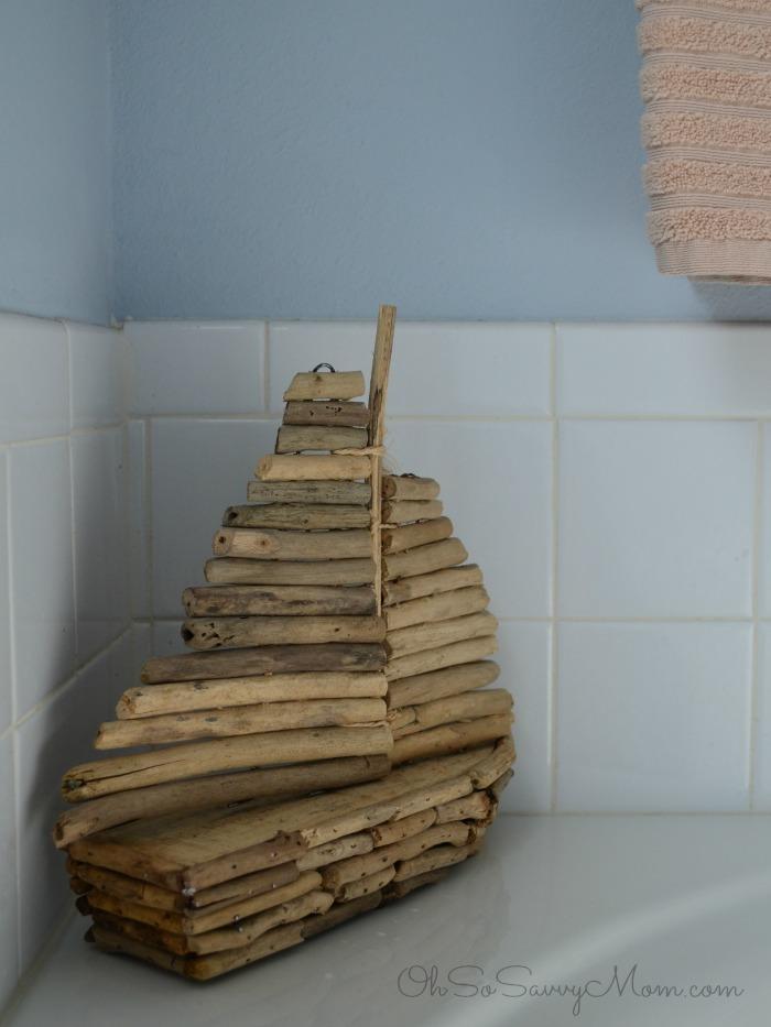 Creating a seaside spa bathroom