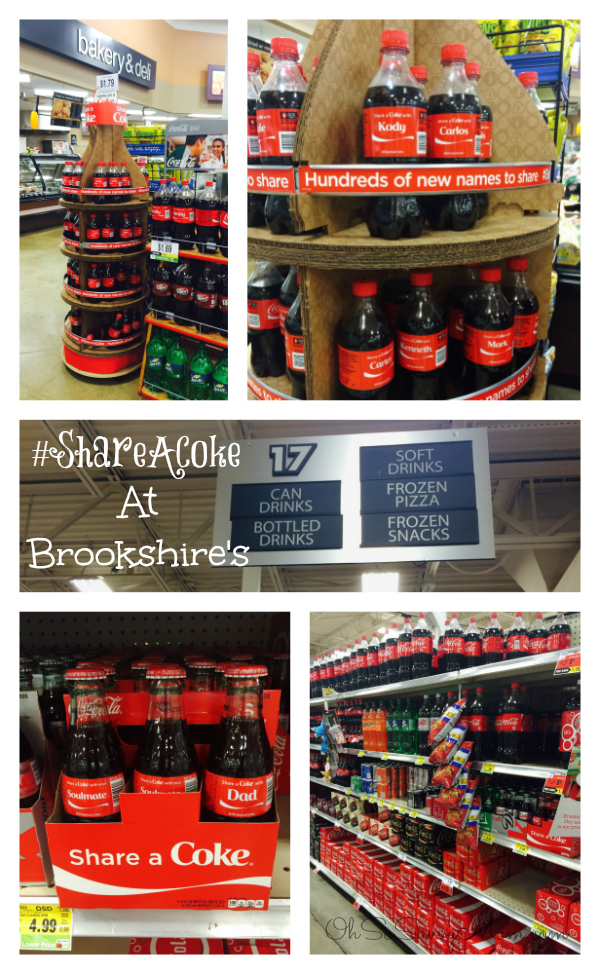 ShareACoke at Brookshire's