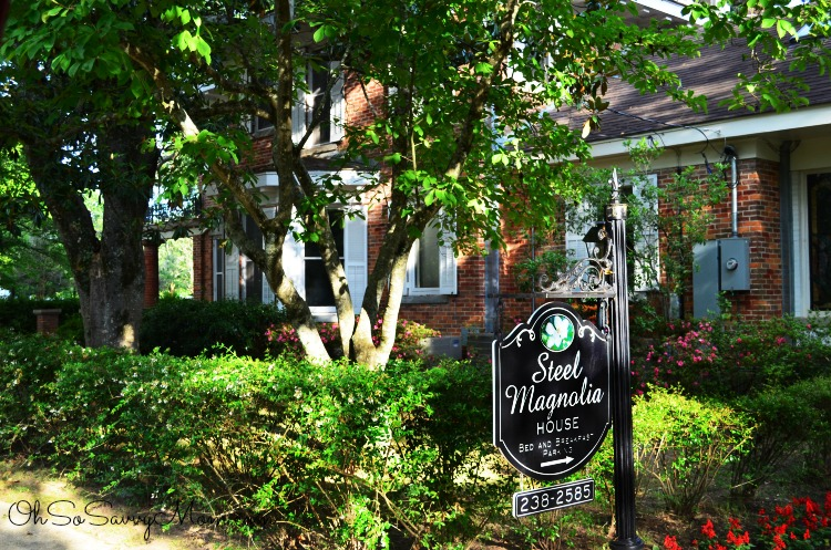 Steel Magnolias House in Natchitoches Louisiana