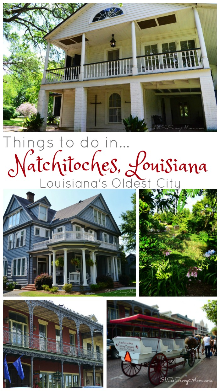There are lots of fun things to do and beautiful, historic sights to see in Natchitoches, Louisiana