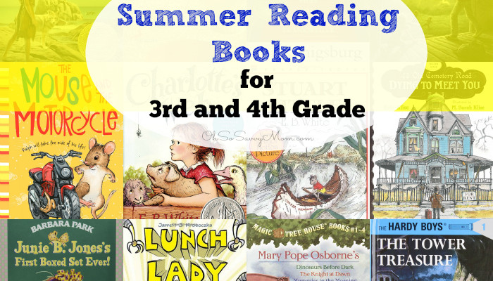 How I Got my Kids to Read this Summer + Great Summer Reading Books for 3rd and 4th Graders!