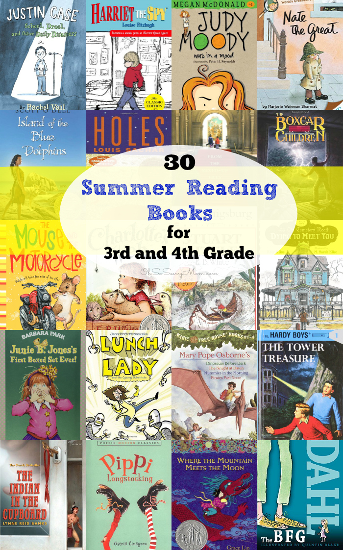 great summer reading books for 3rd and 4th graders