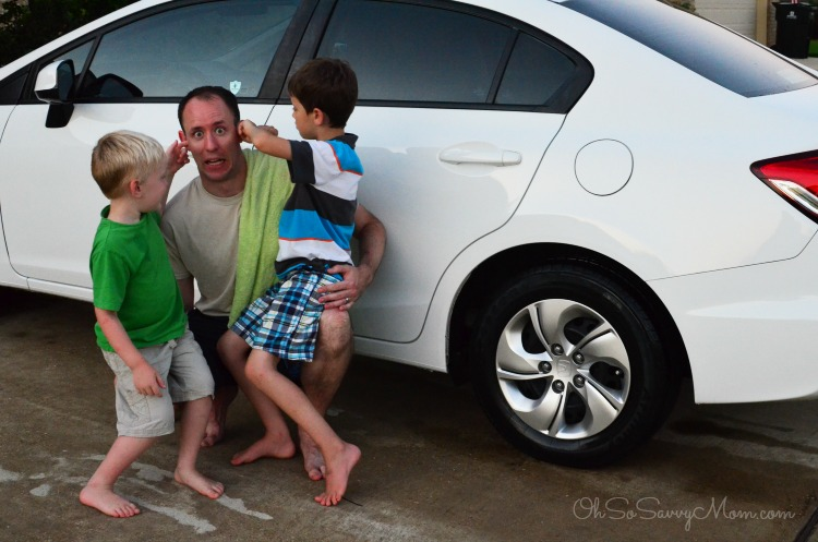 Car Wash for Dad