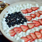 Fourth of July Smores Pie
