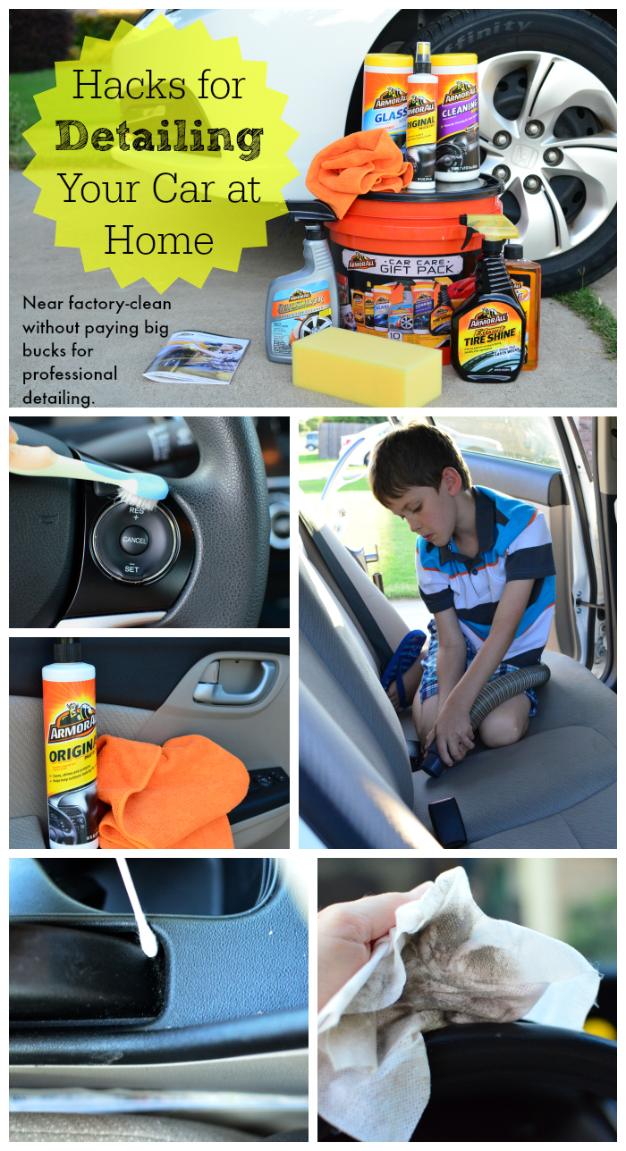 Hacks for Detailing your Car at Home