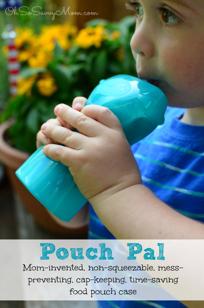 Pouch Pal baby food pouch case
