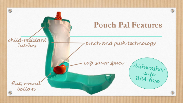 Pouch Pal features