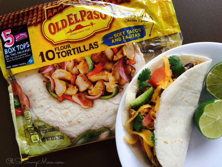 Old El Paso Tortillas with Bonus Box Tops