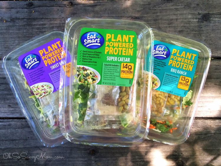 Eat Smart Plant Powered Protein Salad
