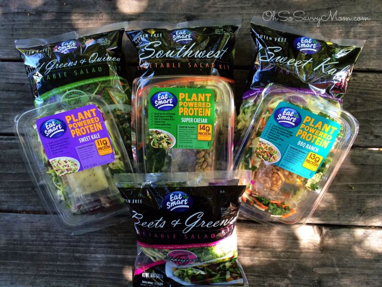 Eat Smart Salad Kits and Plant Powered Protein