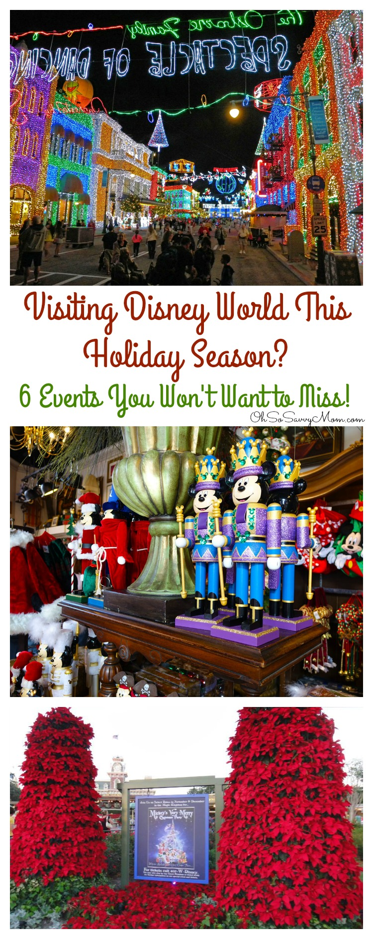 Holiday Events at Disney World