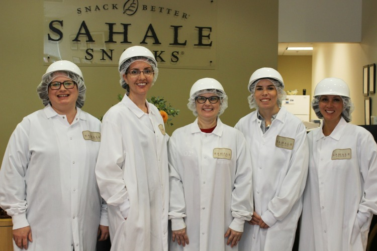 Sahale Snacks factory tour
