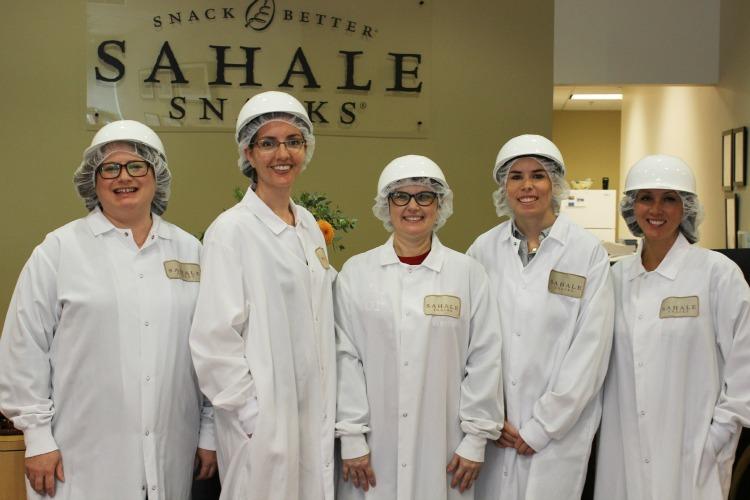 Sahale Snacks factory tour