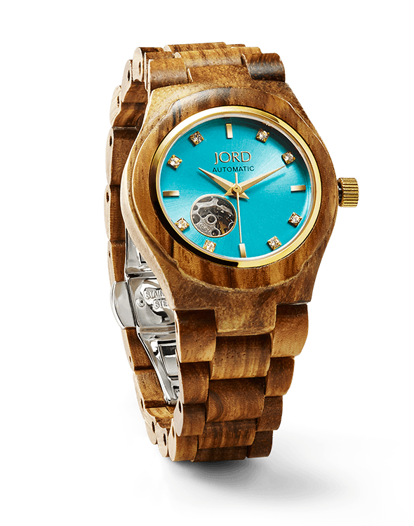 wood watch for women