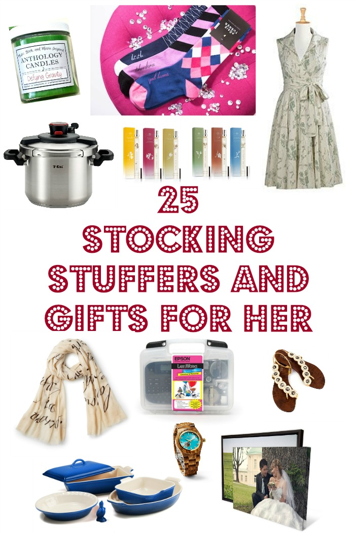 25 Stocking Stuffers and Gift Ideas for Her