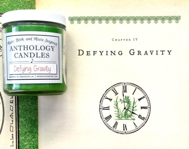 Anthology Candles Defying Gravity