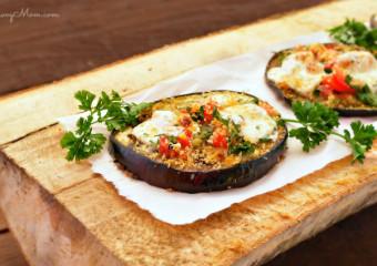 Roasted Eggplant Bruschetta Recipe