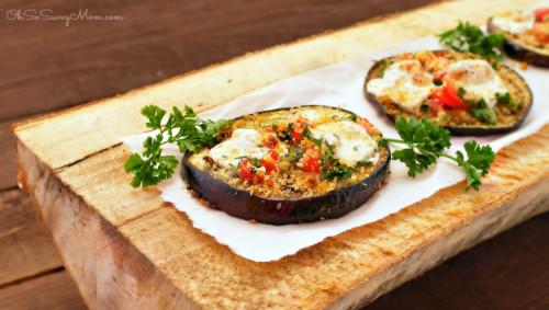 Roasted Eggplant Bruschetta