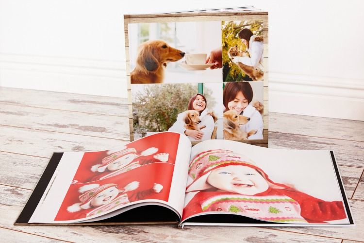 Collage.com Hard cover photo book