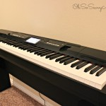 Ideal Family Friendly Compact Grand Piano from Casio – #HolidayGiftGuide