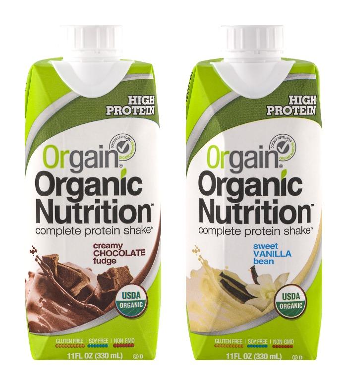 Orgain Organic Protein Shakes