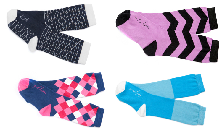 Posie Turner socks gift ideas for her