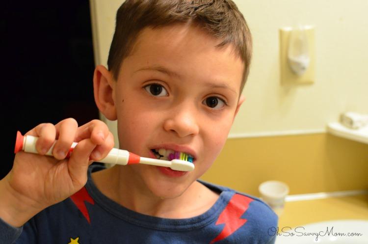Teeth brushing round 2