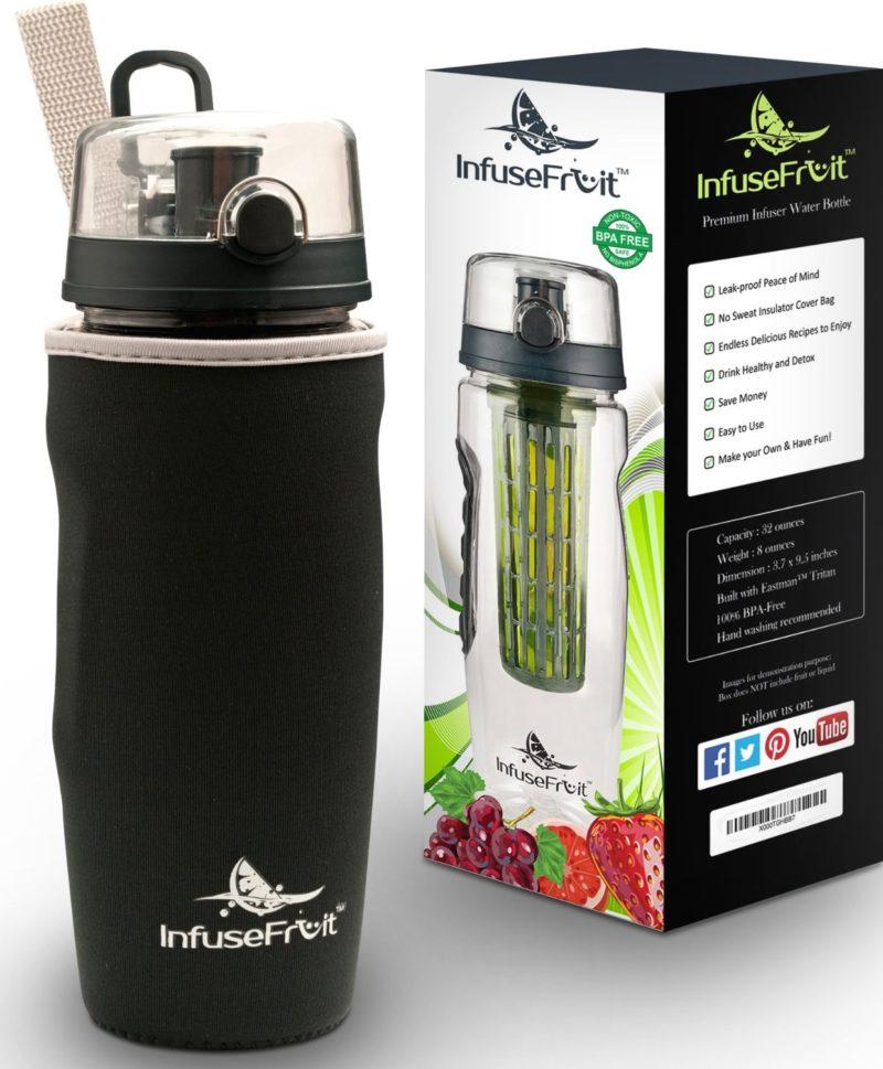flavor infusing water bottle