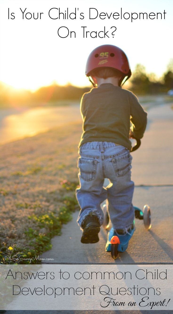 Answers to common Child Development Questions