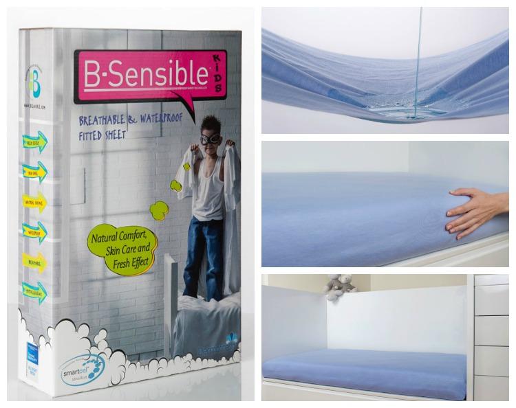 B-Sensible Waterprooof Fitted twin sheet