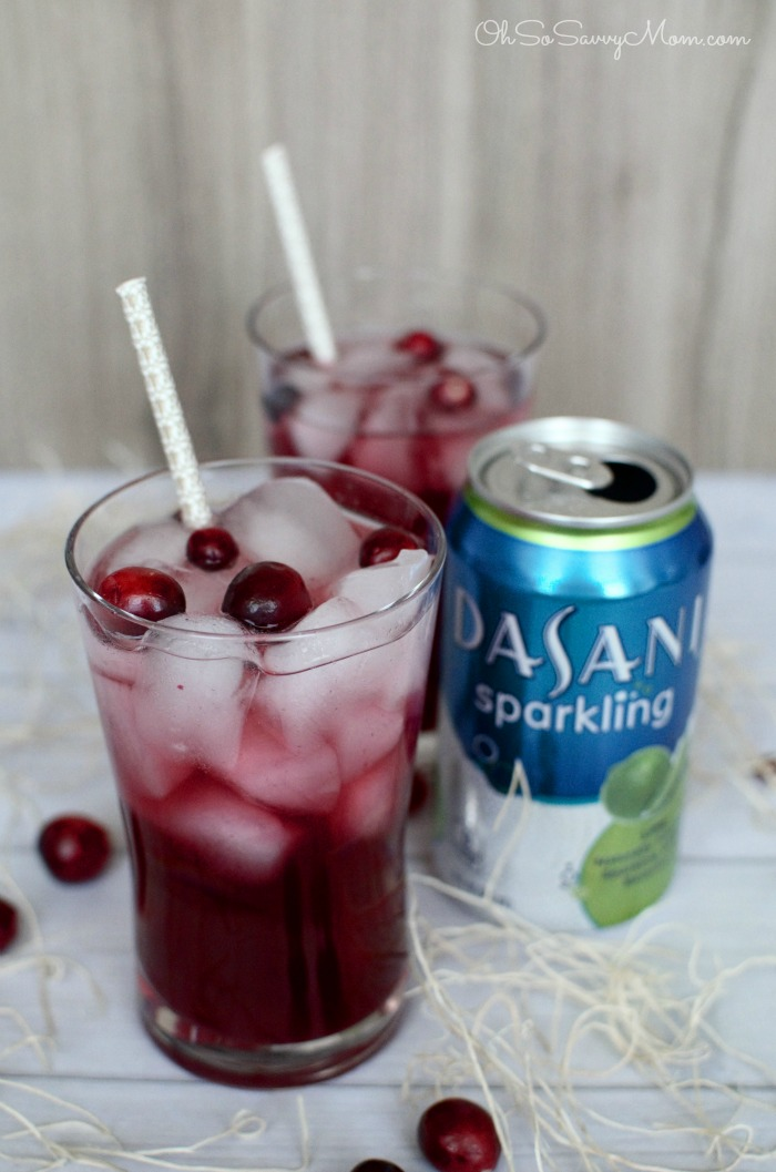Cranberry Pomegranate Sparkling punch