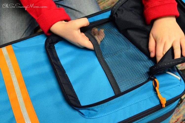 Lassig 4Kids Luggage front pocket