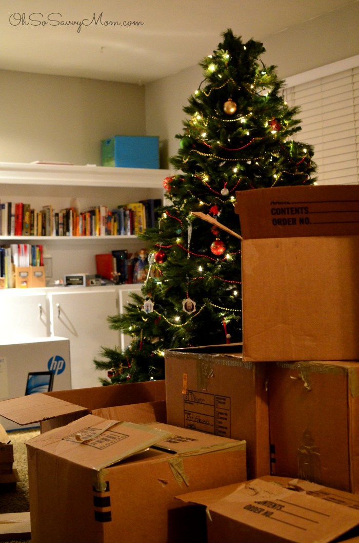 Moving in at Christmas
