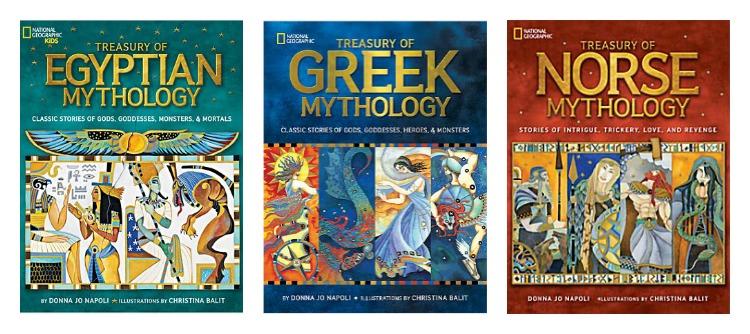National Geographic Treasury of Mythology