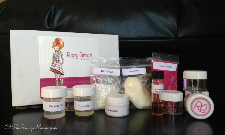 Roxy Grace DIY skincare kits for girls