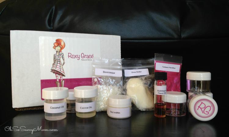 Roxy Grace DIY skincare kits for girls