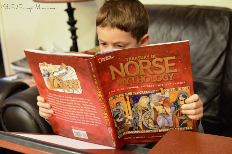 Treasury of Norse Mythology for kids