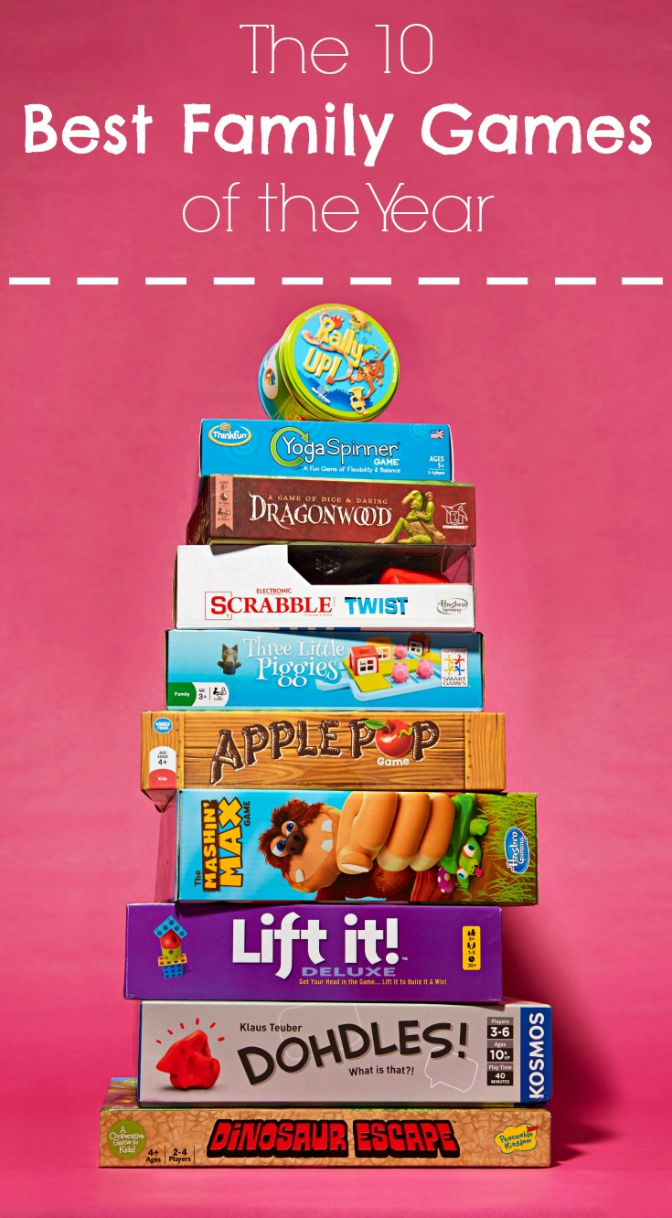 10 Best Family Games of 2016