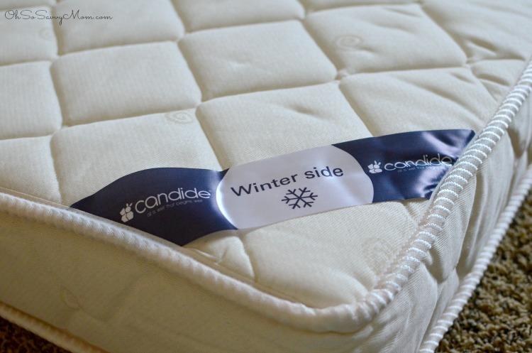 Candide Baby Seasonal Crib Mattress Winter side