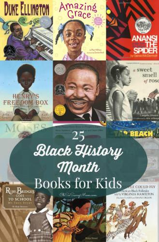 25 Black History Month Books for Kids