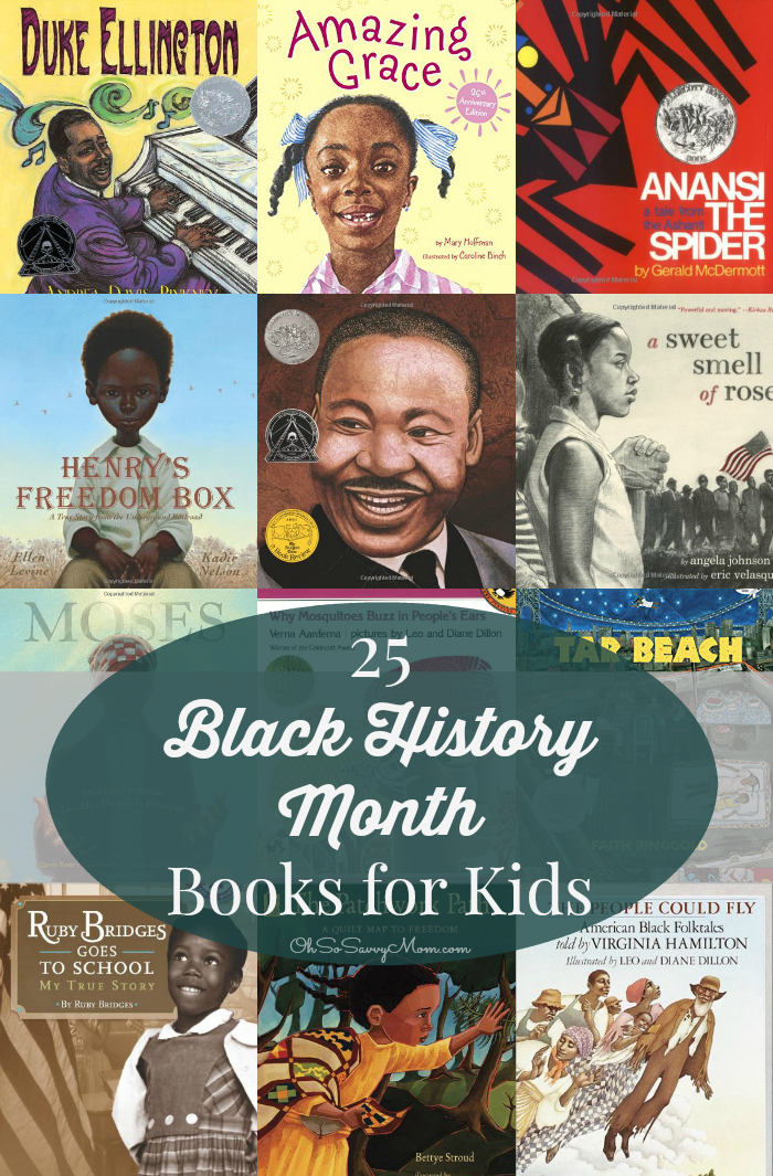 25 Black History Month Books for Kids