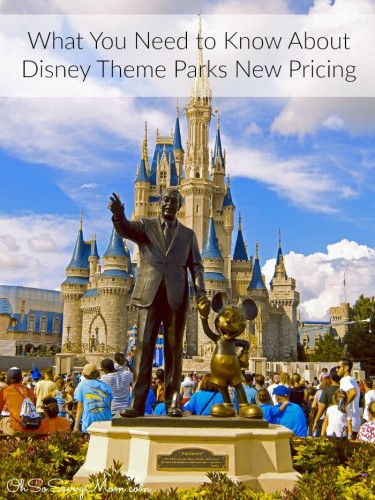 What you need to know about Disney Theme Parks new pricing