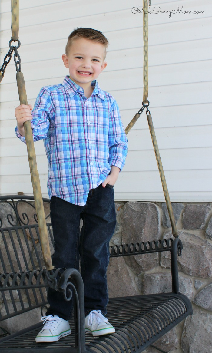 The Children's Place Spring outfit for boys