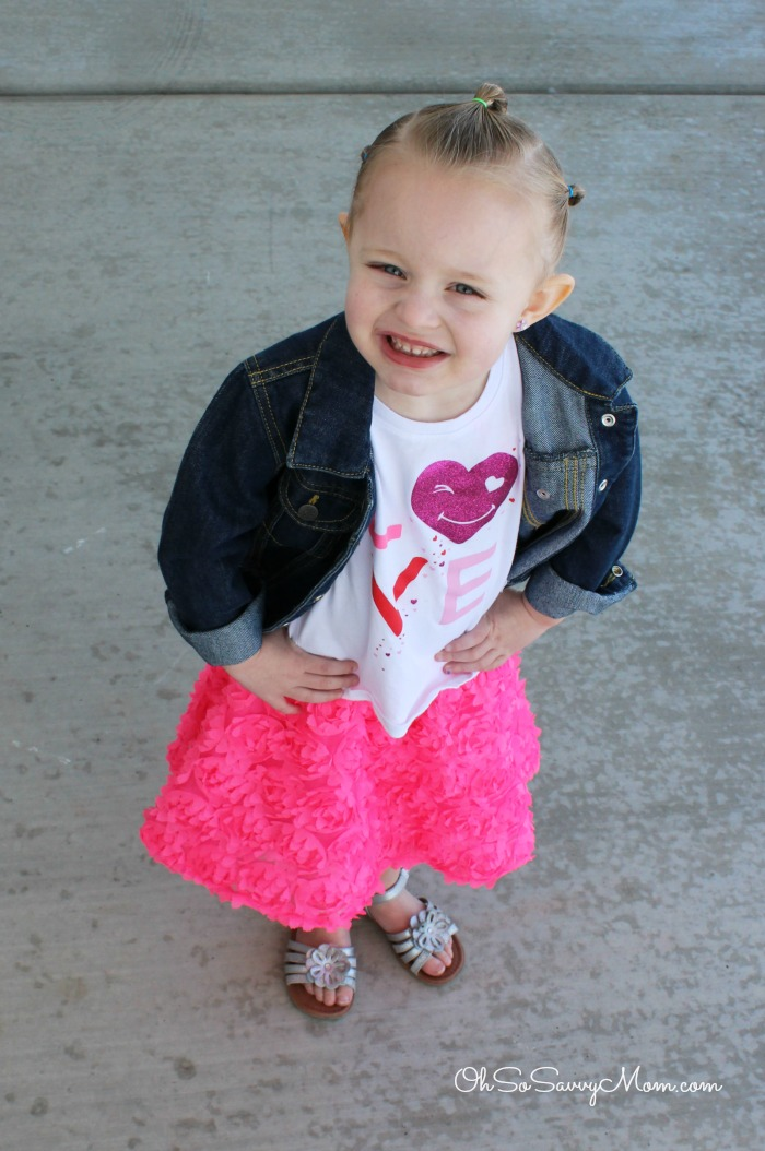 The Children's Place Valentine's Little Girl's Outfit