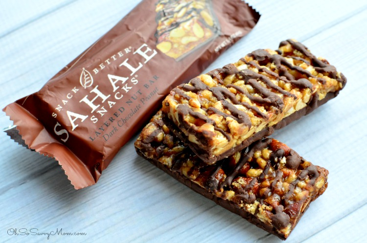 Sahale Snacks Layered Nut Bars
