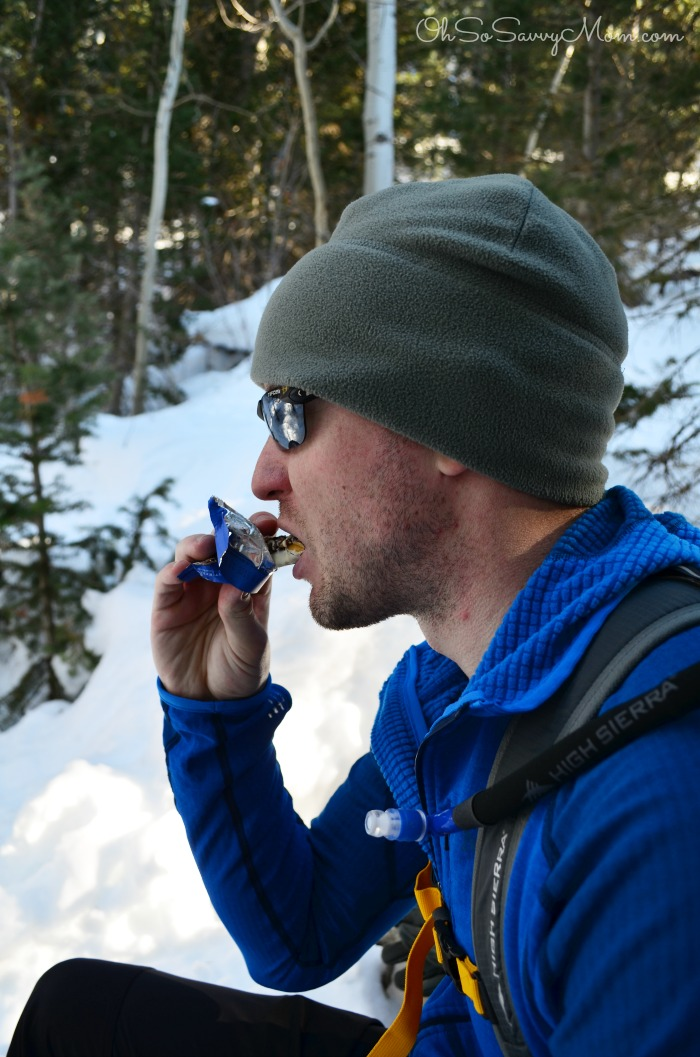 Snack Break Hiking in American Fork Canyon